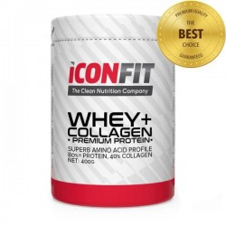 ICONFIT WHEY+ Collagen • Premium Protein •