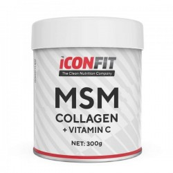 ICONFIT MSM Collagen + Vitamiin C (300g)