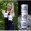 ICONFIT MSM Collagen + Vitamiin C (300g)